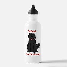 Newfie Granny Water Bottle