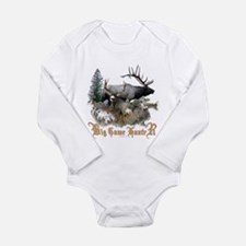 Big Game Hunter Long Sleeve Infant Bodysuit