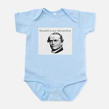 Mendel is my chromeboy Infant Creeper