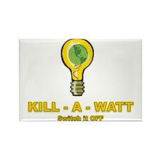 Kill-A-Watt Rectangle Magnet
