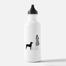 Argentine Dogo Sports Water Bottle