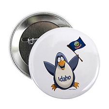 """Idaho Penguin 2.25"""" Button"""