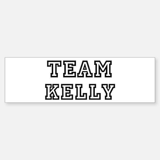 Team Kelly Bumper Bumper Bumper Sticker