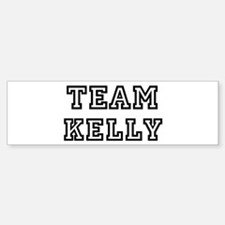 Team Kelly Bumper Car Car Sticker