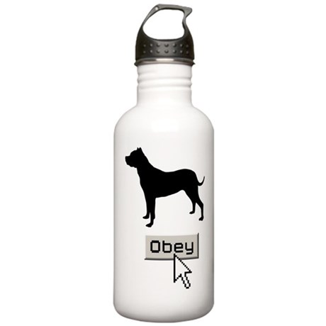 Argentine Dogo Stainless Water Bottle 1.0L