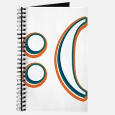 Dolphins Sad Emoticon Journal
