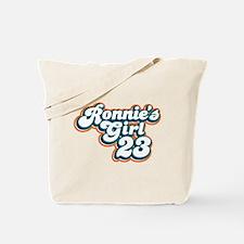 Ronnie Brown Girl 23 Tote Bag