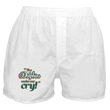 The Dolphins make me cry Boxer Shorts