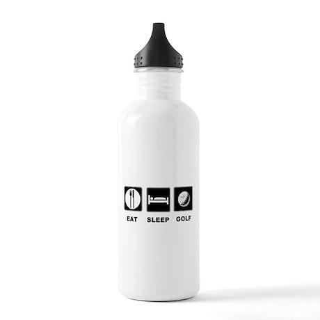 Eat Sleep Golf Stainless Water Bottle 1.0L