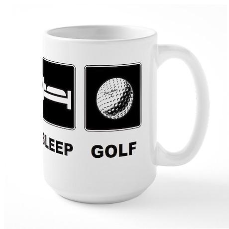 Eat Sleep Golf Large Mug