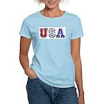 USA Chrome Women's Pink T-Shirt