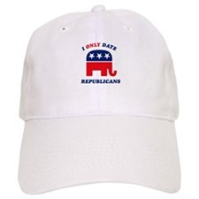 I Only Date Republicans Baseball Cap