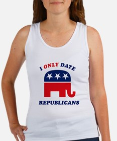 I Only Date Republicans Women's Tank Top