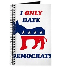 I Only Date Democrats Journal