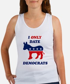 I Only Date Democrats Women's Tank Top