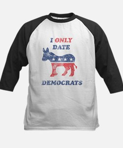 I Only Date Democrats Distres Tee