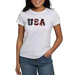 USA Flag Women's T-Shirt