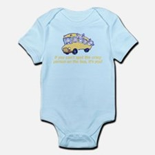 Crazy Person Infant Bodysuit