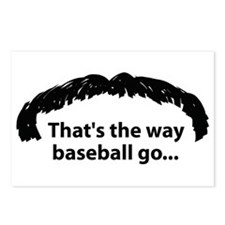 Cute Stache Postcards (Package of 8)