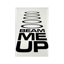 Beam Me Up - Star Trek Rectangle Magnet
