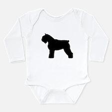 Bouvier des Flandres Dog Long Sleeve Infant Bodysu