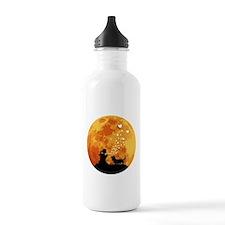 Basset Hound Sports Water Bottle