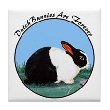 Dutch Rabbit Tile Coaster