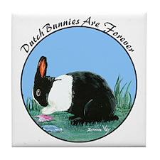 Dutch Bunny Tile Coaster