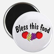 Bless This Food Fridge Magnet