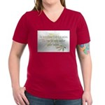For everything there is a season Women's V-Neck Da