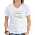 For everything there is a season Women's V-Neck T-