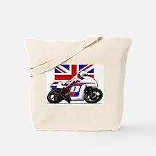 Norton British Twins Tote Bag