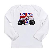 Norton British Twins Long Sleeve Infant T-Shirt