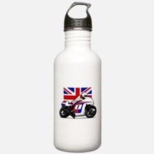Norton British Twins Water Bottle