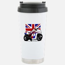 Norton British Twins Stainless Steel Travel Mug