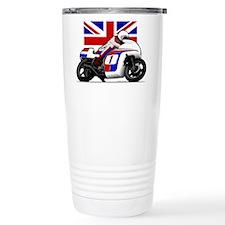 Norton British Twins Travel Mug