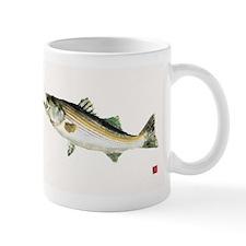 Striped Bass Gyotaku Mug
