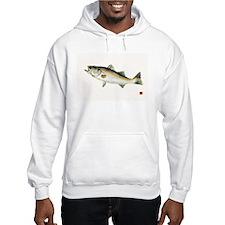 Striped Bass Gyotaku Hoodie