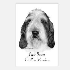 Petit Basset Griffon Vendeen Postcards (Package of