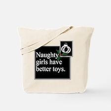 Naughty Girls Tote Bag