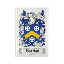 Barclay [Scottish] Rectangle Magnet
