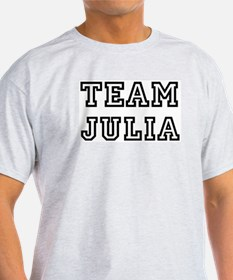 Team Julia Ash Grey T-Shirt