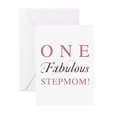One Fabulous Stepmom Greeting Card