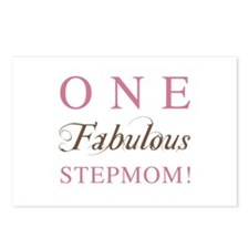 One Fabulous Stepmom Postcards (Package of 8)