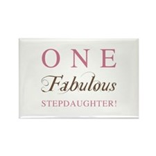 One Fabulous Stepdaughter Rectangle Magnet