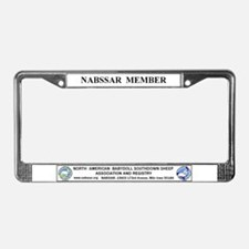NABSSAR License Plate Frame
