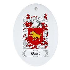 Baird Ornament (Oval)