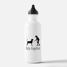 Black & Tan Coonhound Sports Water Bottle