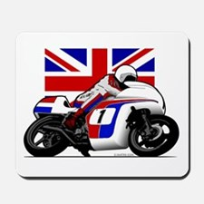 Norton British Twins Mousepad