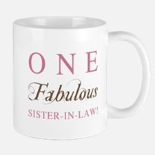 One Fabulous Sister-In-Law Mug